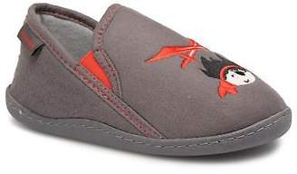 Isotoner Kids's Mocassin Suédine E Slippers in Grey
