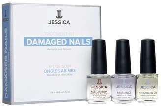Jessica Nail Solutions Damaged Nails Kit - No Colour