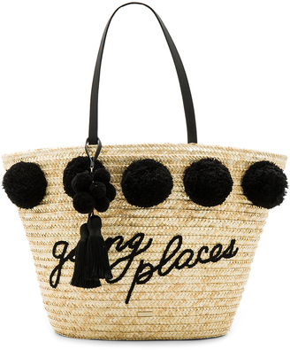 kate spade new york Large Pom Marketa $298 thestylecure.com