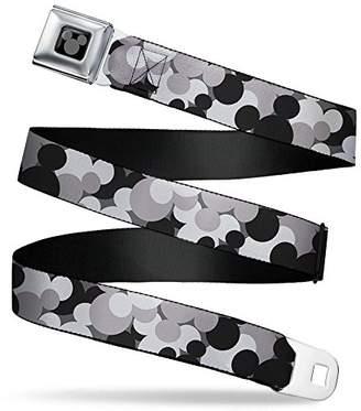 Buckle-Down Men's Seatbelt Belt Mickey Mouse XL
