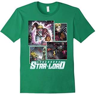 Marvel Star-Lord Guardians of Galaxy Collage Graphic T-Shirt