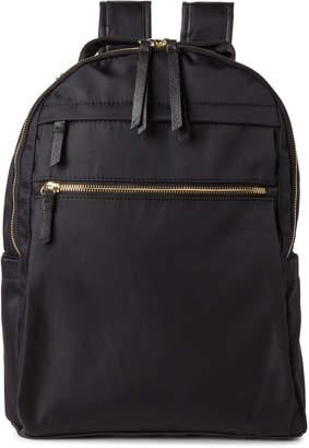Madden-Girl Nylon High Zip Backpack