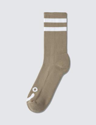 Co Polar Skate Happy Sad Socks