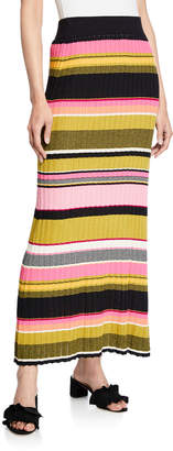 Rachel Roy Kennedy Striped Sweater Maxi Skirt