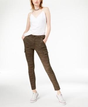 Joe's Jeans Charlie Camouflage-Print Ankle Skinny Jeans