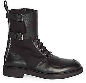 Balmain Men's Maddox Ranger Nylon Combat Boots