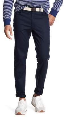 "Original Penguin Stretch Tech Straight Leg Trousers - 32\"" Inseam"