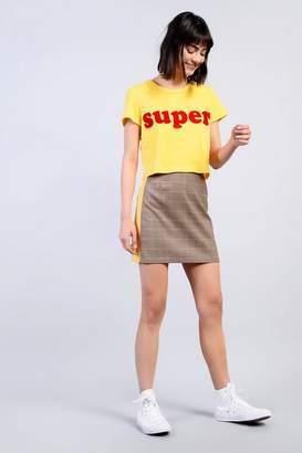 Glamorous **'Super' Slogan T-Shirt