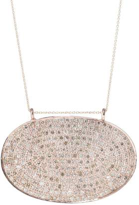 Lera Jewels 25x40mm rose gold classic oval necklace (Default Title)