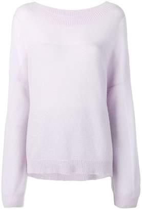 Agnona gradient lurex jumper