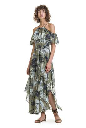 Country Road Curved Hem Maxi