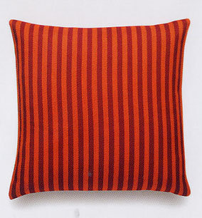 Maharam Toostripe Orange Pillow