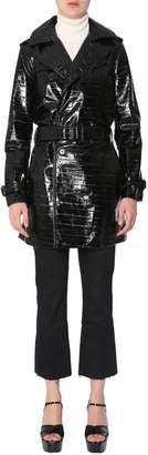 Saint Laurent Leather Trench Coat