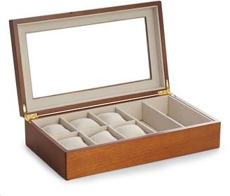 Bey-Berk Bey Berk Wood Watch and Sunglasses Storage Box
