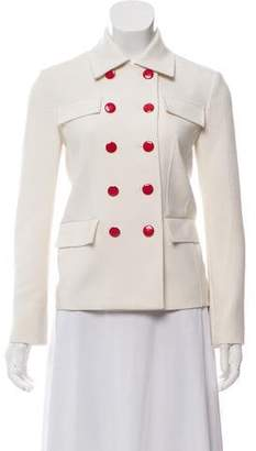 Tory Burch Double-Breasted Casual Jacket