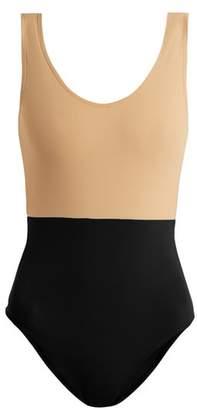 Albus lumen Albus Lumen - Costa Bi Colour Swimsuit - Womens - Multi