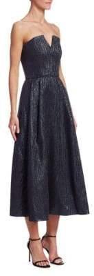 Roland Mouret Strapless A-Line Dress