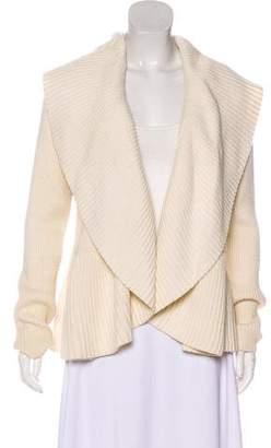 Diane von Furstenberg Hoxer Short Rib Knit Cardigan