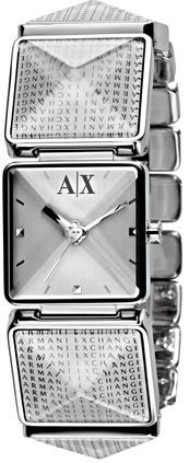 Silver Prism Bracelet Watch