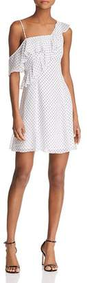 Bailey 44 California Dreamer Asymmetric Polka Dot Dress