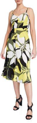 Bailey 44 Mambo Floral-Printed A-Line Midi Dress