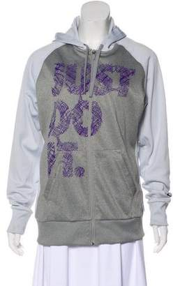 Nike Hooded Zip Sweatshirt