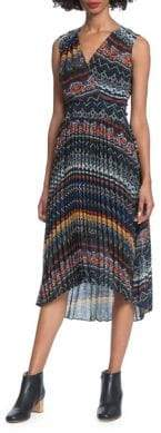 Plenty by Tracy Reese Pleated Printed Dress