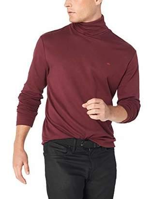 Calvin Klein Jeans Men's Logo Long Sleeve Turtleneck