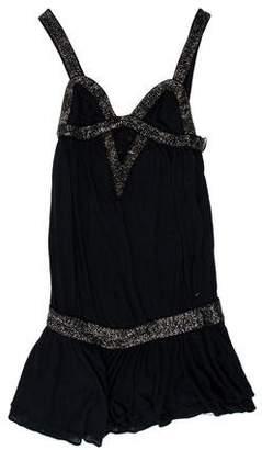 Sass & Bide Embellished Knit Dress