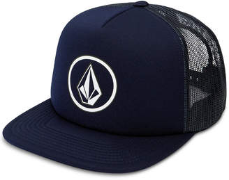 Volcom Men's Full Frontal Cheese Graphic-Print Logo Trucker Hat