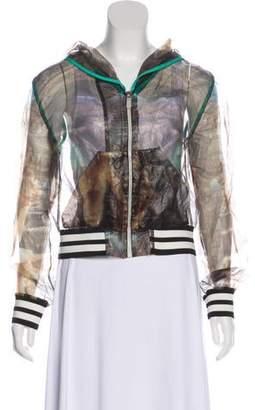 Aviu Sheer Printed Jacket