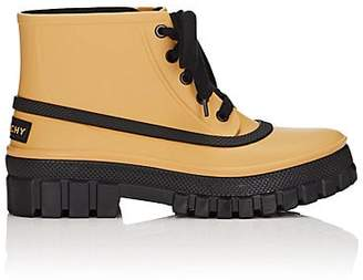 Givenchy Women's PVC Ankle Boots - Yellow