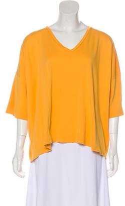 eskandar Oversize Short Sleeve Top