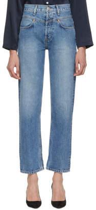 RE/DONE Blue Originals Double Yoke Jeans