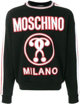 Moschino question mark sweatshirt