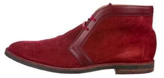 Louis Vuitton Suede Chukka Boots