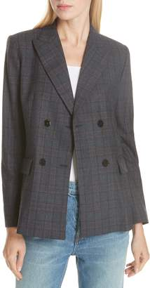 Sandro Oscar Plaid Jacket