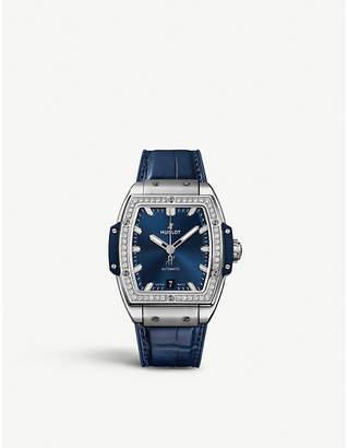 Hublot 665.NX.7170.LR.1204 Spirit of Big Bang titanium and diamond watch