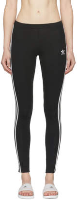 adidas Black 3-Stripe Leggings