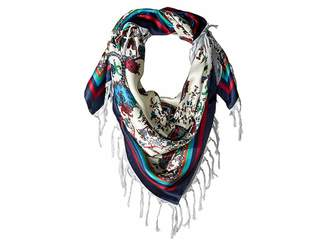Echo Paisley Double-Faced Silk Square Scarf