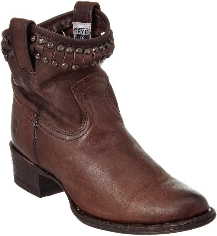 Frye Women's Diana Cut Stud Short Leather Boot