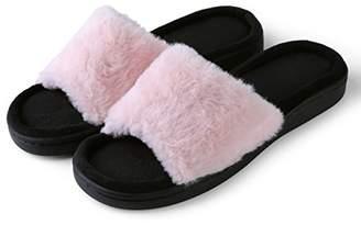 Aerusi Women's Loulu Fluffy Slide Slipper