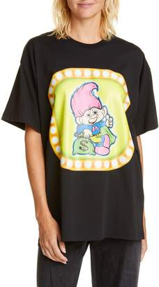 Moschino Troll Graphic Tee