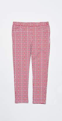 J.Mclaughlin Girls' Jojo Leggings in Greek Tile