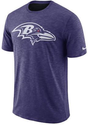 Nike Men's Baltimore Ravens Dri-Fit Cotton Slub On-Field T-Shirt
