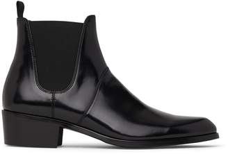 Matt & Nat ALTON Chelsea Boot - Black Pu