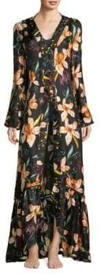 Sinesia Karol Hannah Silk Maxi Dress