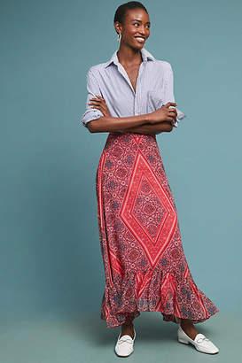 Ranna Gill Scarf-Printed Maxi Skirt