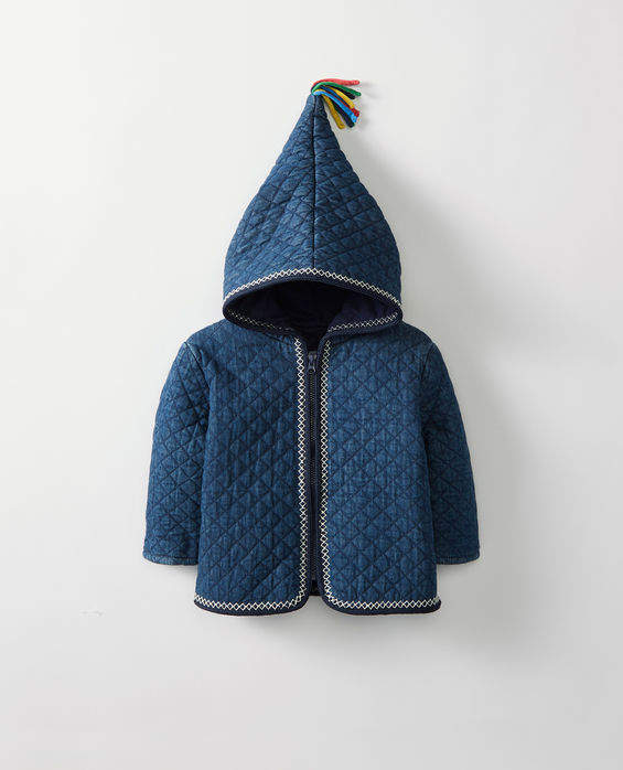 Jersey Lined Chambray Jacket