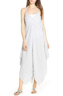 Tommy Bahama Stripe Maxi Cover-Up Dress